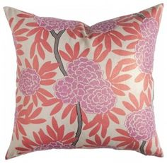 typical oriental color scheme pinks with orange or red