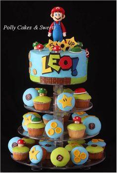 Mario Bros Cake www.facebook.com/pollycakesnsweets