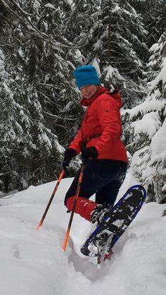 Sneeuwschoenwandelen vanuit chalet Ursa minor