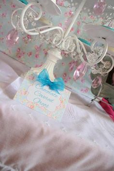 Princess / Birthday Shabby Chic Baby Princess 1st Birthday Party | Catch My Party