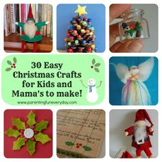 30 easy christmas cr