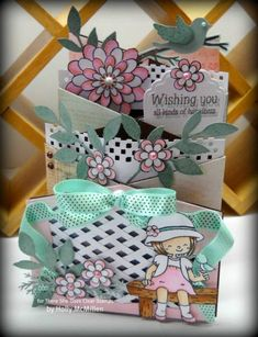 TLC362 ~ Cascading Garden ~ by Toy - Cards and Paper Crafts at Splitcoaststampers