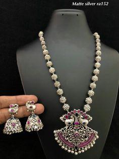 Oxidised Jewellery, Antique Jewellery, Silver Jewellery, Modern Jewelry, Metal Jewelry, Beaded Jewelry, Indian Wedding Jewelry, Indian Jewelry, Engagement Jewellery