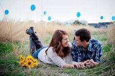 Cute engagement picture idea :D