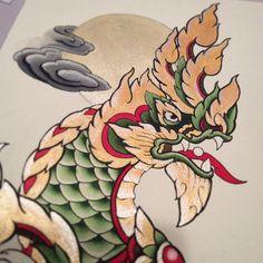 naga laos tattoo design by on deviantart tattoo pinterest. Black Bedroom Furniture Sets. Home Design Ideas