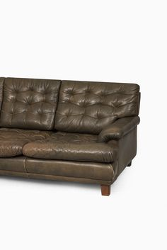 Arne Norell Buffalo Leather Sofa At Studio Schalling