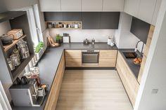 Simple Kitchen Design, Kitchen Room Design, Contemporary Kitchen Design, Home Room Design, Kitchen Sets, Home Decor Kitchen, Interior Design Kitchen, Home Kitchens, Modern Contemporary