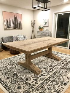 Barn Style Dining Room Table Awesome Reclaimed Trailer Boards for A Rustic Oak Trestle Table Farmhouse Dining Room Table, Dinning Room Tables, Trestle Dining Tables, Dining Table Design, Modern Dining Table, Banquette Table, Farm Tables, Wood Tables, Farmhouse Table With Bench