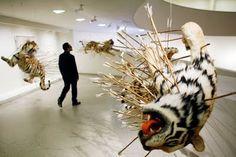 Cai Guo-Qiang's art installation