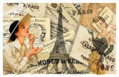 VINTAGE, EL GLAMOUR DE ANTAÑO: Mis Collages