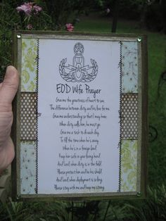 Someday- EOD+wife+prayer+with+EOD+master+crab+badge+by+CreationsbyGena,+$11.99