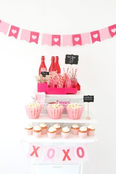 Build a Valentine's Day Party Cart