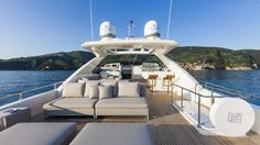Ferritti yacht interiors | is the largest planing recreational boat ever built…