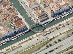 Resultado de imagem para ponte pedonal em aveiro