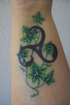 Image detail for -Morgana: Triskele & Efeu | Tattoos von Tattoo-Bewertung.de