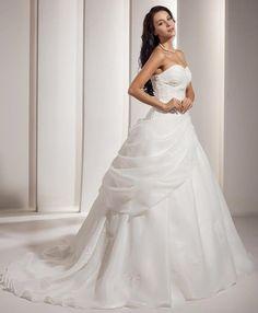 GEORGE BRIDE ELegant Strapless Ball Gown Satin #WeddingDress You Save:$610.00 (77%) 5.0 out of 5 stars customer reviews http://astore.amazon.com/bargainshopvillage-women.com-20/detail/B0091QTYTW