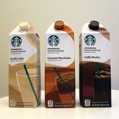 The ever-expanding Starbucks found a new way to squeeze its way into your daily coffee routine: Iced Café Favorites in vanilla latte, caramel macchiato, Bebidas Do Starbucks, Starbucks Drinks, Coffee Shop Aesthetic, Aesthetic Food, Coffee Club, My Coffee, Morning Coffee, Best Starbucks Coffee, Sleepover Food