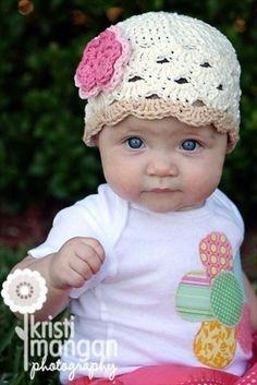 Crochet baby hat