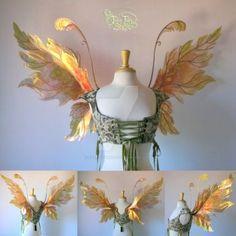 DeviantArt: More Like Steampunk Fairy Wings by FaeryAzarelle
