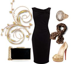 """""""Evening Wear"""" by dream4always on Polyvore"""