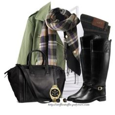 Boots Great Winter casual outfit!