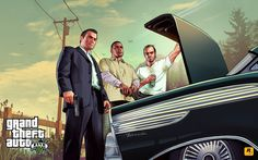 Rockstar unveils new Grand Theft Auto V trailer Rockstar Games has posted a new trailer for Grand Theft Auto V, which features the central protagonists Michael, Franklin and Trevor. Xbox 360, Playstation, Trevor Philips, Red Dead Redemption, San Andreas, Lionel Messi, Wallpapers Games, Gaming Wallpapers, Trailers