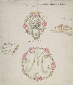 Attributed to Anonymous, German, 18th century | Ornamental designs for porcelain | 18th century | The Met