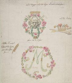 Ornamental designs for porcelain