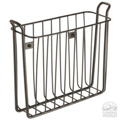 Classic Wall-mounted Magazine Rack