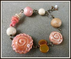 Art Jewelry Elements: Make Something Monday: WoolyWire Bead Link Tutorial