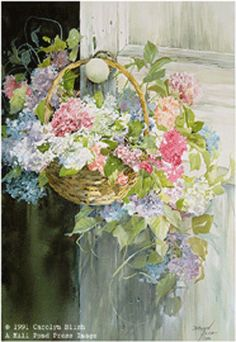 """~~ For you Mom on Mother's Day in Heaven, your first. I love you Mom and miss you so very much. xox ~~~                """"Hanging Hydrangea by Carolyn Blish"""