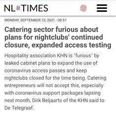 Cabinet Plans, Night Club, Amsterdam, Catering, Closure, How To Plan, Sayings, News, Catering Business