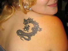 chinese dragon shoulder 25 Stunning Chinese Dragon Tattoo Designs