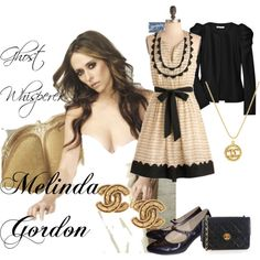 I always loved the show Ghost Whisperer.  Not necessarily for the storyline but because of the clothes.  OMG I want Melinda's wardrobe.  Designer and vintage mixed together in fresh ways and always feminine. Her coat collection alone was to die for.  Then I guess she could help you cross over.  :)