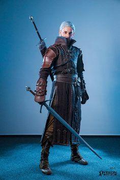 Witcher 3 Cosplay Bear Armor Costume Wild Hunt Handmade Custom Order Geralt
