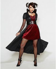 Blood Thirsty Beauty Adult Womens Vampire Costume - Spencer's