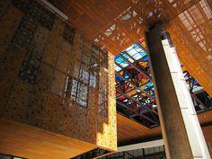 Pieles: planchas perforadas y tejidos metálicos | Arquitectura en acero