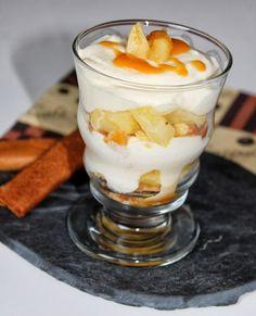 Un reste de caramel au beurre salé qui me fait del'œil et envie d'un petit dessert sans prise de tête pour l'anniversaire de monsieur : e...