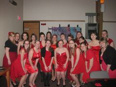alpha gams lovee red!---> i think alpha O's loveeeee red even more!