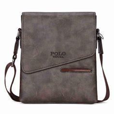 Vintage Frosted Leather Slanted Flap Shoulder Bag f934b3141762a
