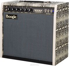 """MESA/BOOGIE King Snake Limited Edition 1x12"""" 100-Watt Tube Combo • 1-channel, 1 x 12"""" All-tube 10/60/100-watt Guitar Combo Amplifier with Mid Boost, Tube-driven Spring Reverb, and Dual Presence Control Switch - Snakeskin   Sweetwater"""