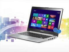 "ASUS VivoBook S300CA-BBI5T01 Notebook Intel Core i5 3337U (1.80GHz) 4GB Memory 500GB HDD Intel HD Graphics 4000 13.3"" Touchscreen Windows 8 #NeweggFlash #Flashsale #Deals  http://www.neweggflash.com"