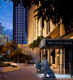 #TheCapitalGrille #Miami Restaurant features a menu of nationally renowned dry aged #steaks and the freshest of seafood to ignite your #culinary imagination.
