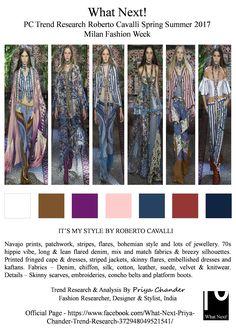 #RobertoCavalli #PeterDundas #SS17 #Cavalli #MilanFashionWeek #MFW #fashion #priyachander #hippiefashion #bohemian #navajoprints #flareddenim #denim #fringes #fashionista #runway #catwalk #womenswear #breezysilhouettes #patchwork #fringedcape #jewellery #fashionindustry #fashionblogger #fashionweek #spring2017 #whatnextpctrendresearch #stripedjacket #conchobelts #platformboots #scarve
