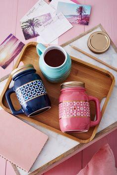 Steep away the winter blues with these chic mason jars! Best Loose Leaf Tea, Davids Tea, Premium Tea, Oolong Tea, Tea Accessories, Mug Cup, Tea Time, Tea Pots, Mason Jars
