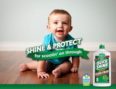 Products featuring the Safer Choice logo have earned the U.S. Environmental Protection Agency's (EPA) Safer Choice label by meeting the rigorous criteria of the voluntary Safer Choice Program. The Safer Choice label allows consumers to quickly identify and choose effective products that help protect the environment and are safer for families and pets.  Shine & Protect for scootin' on through with Quick Shine® !