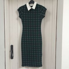 6d1f821dc28 Check Bodycon Newlook Dress New Look