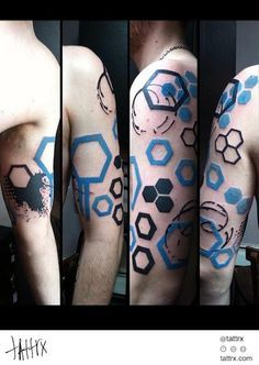 GEOMETRIC CYBERPUNK tattoo 2 More
