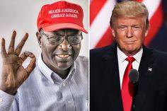"""President Obama's Kenyan half-brother wants to make America great again — so he's voting for Donald Trump...."" I wasn't sure either but YES he is going to vote for Trump---must have some some real family fights in Barry's extended family now!"