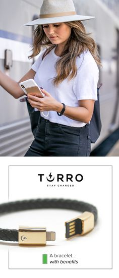 Ever considered bringing your iPhone charger when you leave your house? Chances are, you are probably going to need it. Torro Bracelet is a state of the art jewelry piece that allows you to forget that thought. It's a luxury bracelet that doubles as a dat Fancy, Things To Buy, Cool Gifts, Just In Case, Jewelry Art, What To Wear, Ideias Fashion, Cute Outfits, Style Inspiration